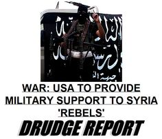 Obama Throws Military Support To Al-Qaeda Connected Syrian Rebels