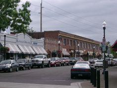 Beaverton Downtown Historic District in Washington County, Oregon.