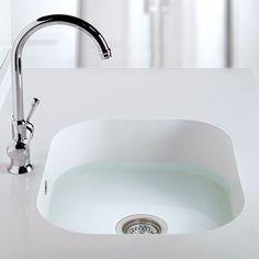 Silestone chrome platinum series countertops for Silestone kitchen sinks
