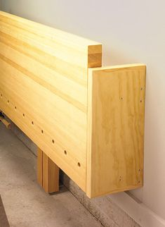 Wall Mounted Folding Workbench The Wood Whisperer