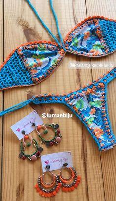 Yarn Projects, Crochet Projects, Crochet Stitches, Crochet Patterns, Spiral Crochet, Crochet Bikini Bottoms, Bikini Cover Up, Malta, Crochet Clothes