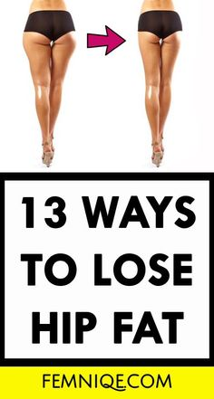 How To Lose Hip Fat (13 Actionable Ways