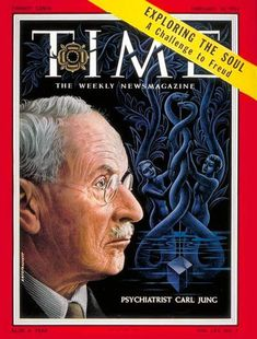 Carl Jung on the cover of TIME magazine, February 1955 (Click for article.)