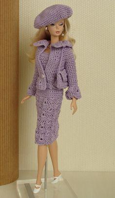 Crochet Clothes For Barbie Doll (Barbie Fashion) to BRL 25 in PrecioLandia…