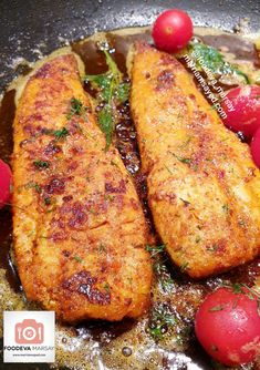A simple yet flavourful way to serve Fish, this Pan Fried Masala Fish is perfect for anytime of the day, week, or year. Masala Fish Recipes, Seafood Recipes, Pan Fried Trout, Fried Fish, Chilli Prawn Pasta, Masala Fries, Asian Recipes, Ethnic Recipes, Those Recipe