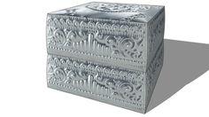 2 boites, Maisons du monde. Réf: 130.127 Prix:39€ - 3D Warehouse