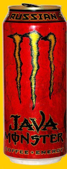 Java Monster Russian Energy Drink review (Mmmmmm)