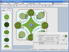 Link to a free virtual garden planner (and a bunch of other free virtual design/layout planning programs)