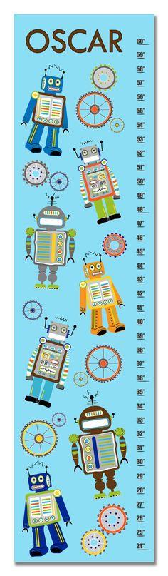 Children's Growth Chart / Ruler / Measure/ Wall Art by KZukowski, $50.00