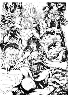 Comic Heroes By Leo Matos