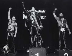 1987: International Mister Leather, Thomas Karasch of Hamburg, Germany. Competed as Mr Leather Europe. #IML #MrLeather #LeatherDE