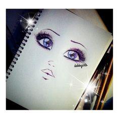 .@Debby Cullen   How to draw eyes ? TUTORIAL COMING SOON ! ♡ good night !  #draw #art #sketch ...   Webstagram