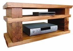 Rustic Oak TV stand by Gazidisdesigns on Etsy