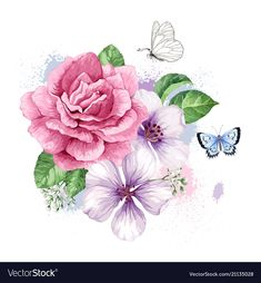 Bouquet of apple tree flower gypsophila in vector Rose Apple Tree, Apple Tree Flowers, Apple Roses, Flower Art Images, Cartoon Flowers, Flower Phone Wallpaper, Gypsophila, Flower Clipart, Noel Christmas