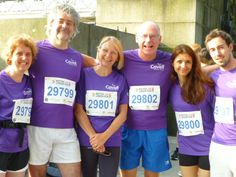 The Premier Pensions team who completed the British 10k in London in aid of our charity