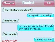 #FunnyTexts About Imagination vs. Reality
