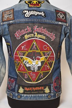 Home of Metal | Denim Jacket (1986)