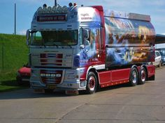 DAF XF 105 SSC tanker of Pierrad & Fils Transports from Luxembourg