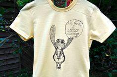"""T-Shirts mit Print - T-Shirt """"I Am Just A Little Creature"""" Unversehrt - ein Designerstück von Unversehrt bei DaWanda"""