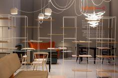 """Salone del Mobile 2014 - Adele-c TT3 shelving system designed by Ron Gilad   sistema di scaffalatura """"TT3"""" progettato da Ron Gilad per Adele-c"""