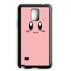 Kirby Cute Face Samsung Galaxy Note 4 Case