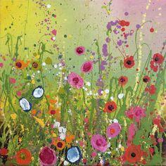 Wonderful You  original artwork by British Contemporary Flower Artist