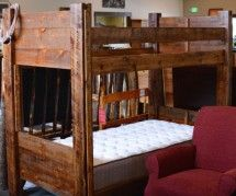 Outwest Furniture Bozeman Locally Made Twin/Twin Bunk Bed: $899