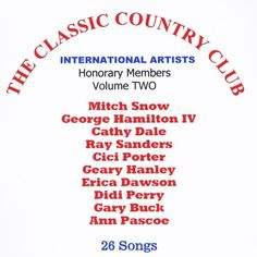 International Artists - Classic Country Club 2