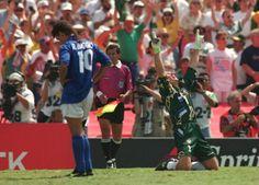 1994 WORLD CUP FINAL. Baggio, the tragic figure.