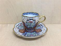 【有田焼 福泉窯】瓜型コーヒー碗皿.染錦古伊万里金彩 [Fs04506] - 13,680円(税込) :