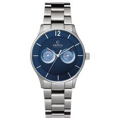 Buy V192GMCLSC for 199.00 USD. A beautiful watch that comes in a Stainless Steel case from OBAKU. This is a collection of danish designer watches, offers danish designer watches and other types of fashion watches, designer watches for men and women at affordable prices.  #Watches   #DesignerWatches   #ObakuWatches