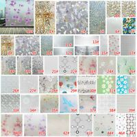 Frosted Privacy Frost Glass Window Film Sticker Bedroom Bathroom Home Decor 2m | eBay Bathroom Window Glass, Frosted Glass Window, Home Office Decor, Diy Home Decor, Sofa Bed Throws, Fridge Stickers, Lace Table, Window Film, Diy Curtains