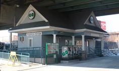 TORONTO, Ontario - Exhibition GO Rail Station