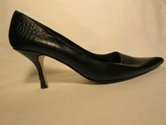 Sz 8 5 M Nina West Classic Crocodile Print Pumps | eBay