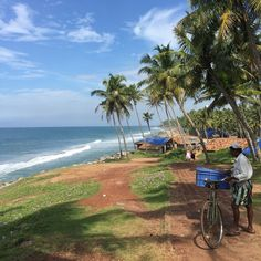 Varkala, Kerala. Ayurvedic massages and yoga lessons in a setting of lush green coconut groves running down to the sea || The Guardian Travel