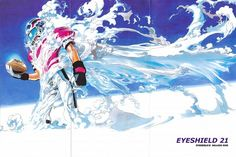 Yuusuke Murata, Studio Gallop, Eyeshield 21, Field of Colors, Sena Kobayakawa
