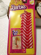 Barbie Best Buy Fashions Red Striped Dress Prod 1355 NEW UNOPENED 1978