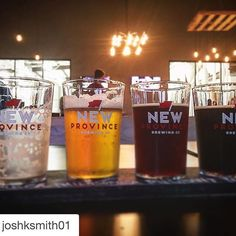 Our #picoftheweek was taken at the NEW brewery in Rogers. @newprovincebrewing [:@joshksmith01]