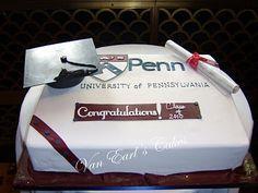 Penn Graduation Cake