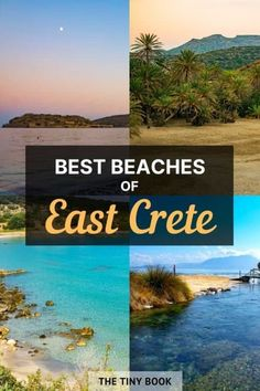Check the best Lasithi beaches in this insider's guide. Discover the top beaches in Eastern Crete:Almyros, Voulisma, Vai, Xerokampos & more! Spain Travel, Greece Travel, Greece Tourist Attractions, Sunken City, Crete, Corfu, Cities In Europe, European Destination, Beaches In The World