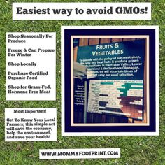 Any of these tips will help your family avoid GMOs!