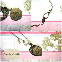 Family Charm Necklace Evally: Evally Jewelry