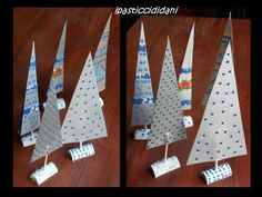 Trees out of milk cartons by i pasticcididani