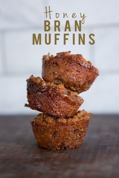 Honey Bran Muffins [In the Kitchen] -  My notes:  Used Bran Buds, substituted applesauce for the oil.  Had left over mix.