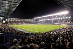 Goodison Park - Home of the Toffee's