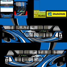 Kumpulan Livery Bimasena SDD (Double Decker) Bus Simulator Indonesia Terbaru Bus Games, Skin Images, New Bus, Skull Pictures, Bus Coach, Busses, Joker, Deck, Galaxy Wallpaper