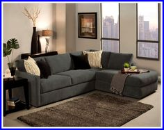 Grey L Shaped Couch Living Room.Three Stunning Color Palettes For Your Interior. Modern Black And Gray Sectional L Shaped Sofa Design Ideas . 10 Inspirations Extra Large U Shaped Sectionals Sofa Ideas. Home and Family Couch With Chaise, Sectional Sofa With Chaise, Modular Sectional Sofa, Sofa Couch, Modern Sectional, Sofa Set, Comfy Couches, Blue Sectional, Fabric Sectional
