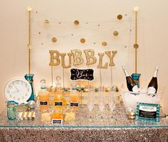 Hostess with the Mostess® - Sweet & Sparkly Bubbly Station #shoppricelesscontest