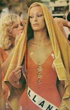 Jenny Ten Wolde - Miss Universe Holland 1972