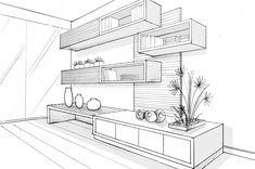 Furniture Sketch Design Art 43 Ideas For 2019 Interior Architecture Drawing, Drawing Interior, Interior Design Sketches, Architecture Design, Classical Architecture, Interior Design Portfolios, Room Furniture Design, Drawing Furniture, City Furniture